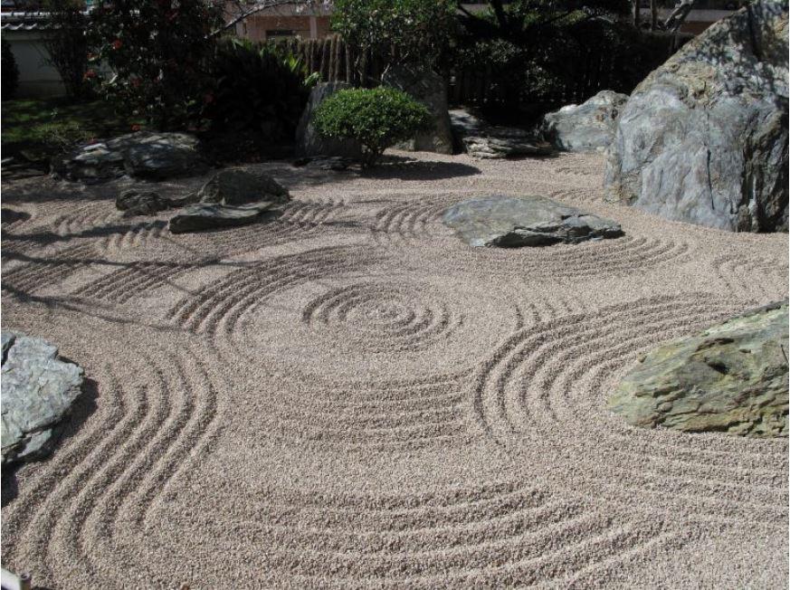 jardin decorado japones