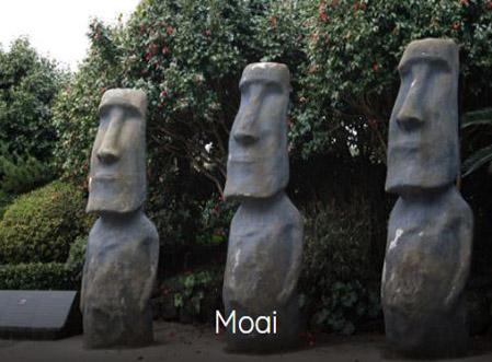estatuas de moais