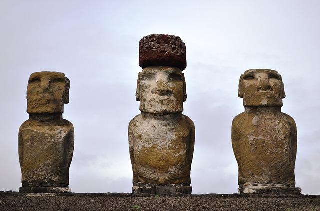 estatuas moais isla de pascua